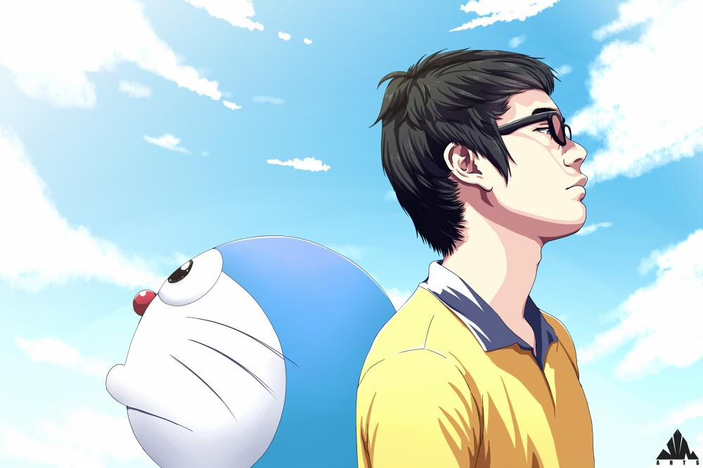 Doraemon and Me by jinsuke04