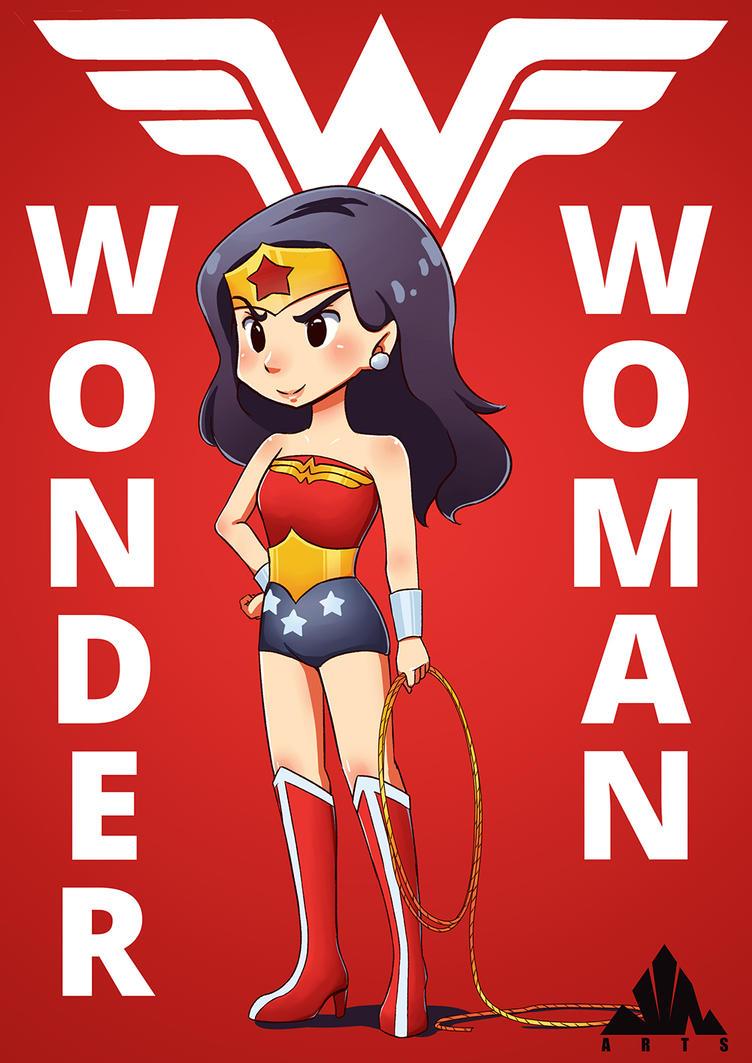 Wonder Woman Fanart by jinsuke04