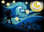 Starry Night - shirt