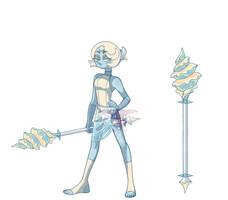 Powder blue Pearl by BoringArtist
