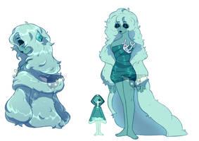 Ocean Dream Diamond ref by BoringArtist