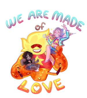 We are made of love