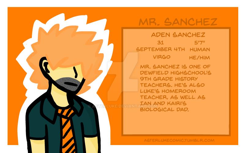 Aden Sanchez by asterluke