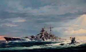 DKM Bismarck by Shiro013
