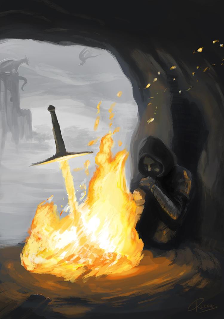 Dark Souls - Warmth by Orlenius