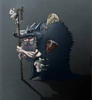 Norse Druid by KKylimos