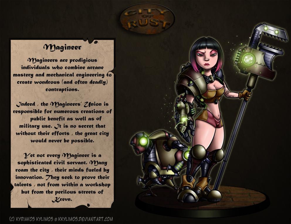 CoR: Magineer by KKylimos