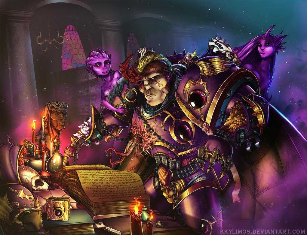 Sorcerer of Slaanesh by KKylimos
