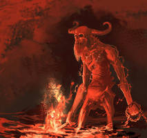 The messenger of despair by Viking-Heart
