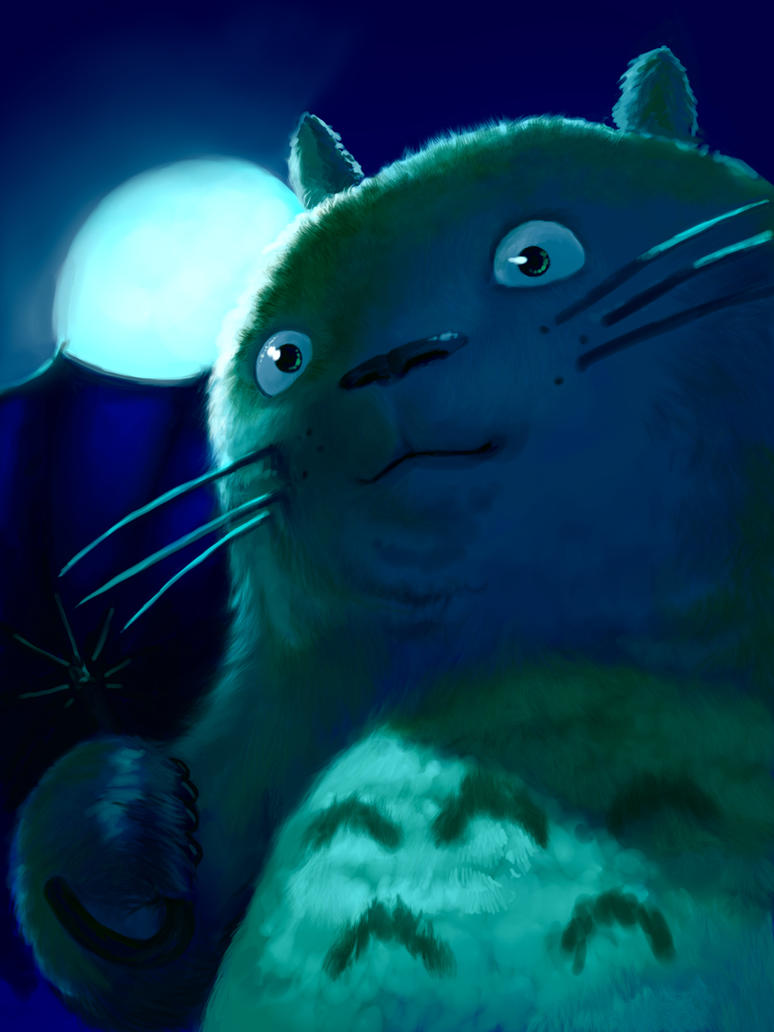 Totoro by Viking-Heart