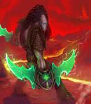 Twin Blades of Adun by Viking-Heart