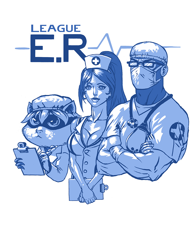 League ER by Viking-Heart