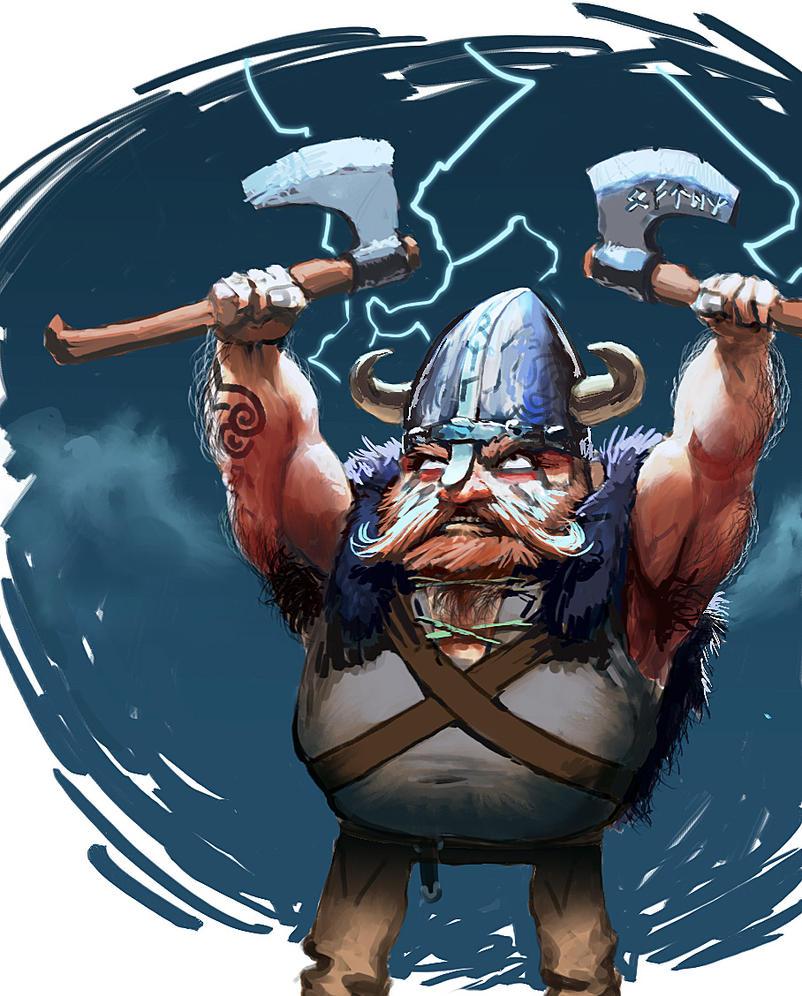 Because... vikings by Viking-Heart