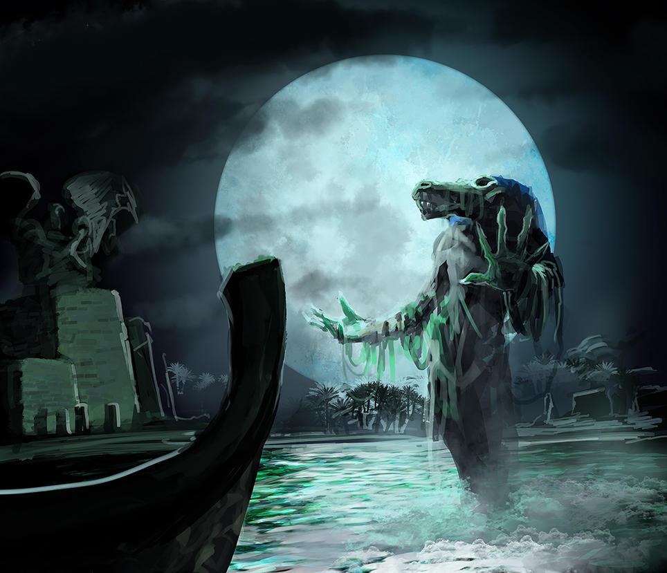 Undead Croc by Viking-Heart