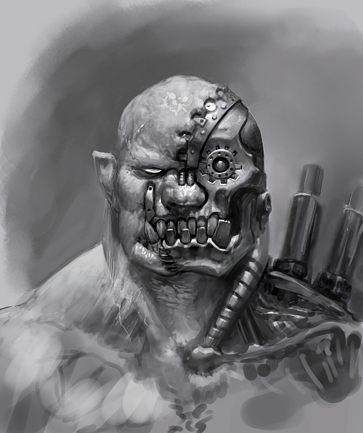 Half orc by Viking-Heart