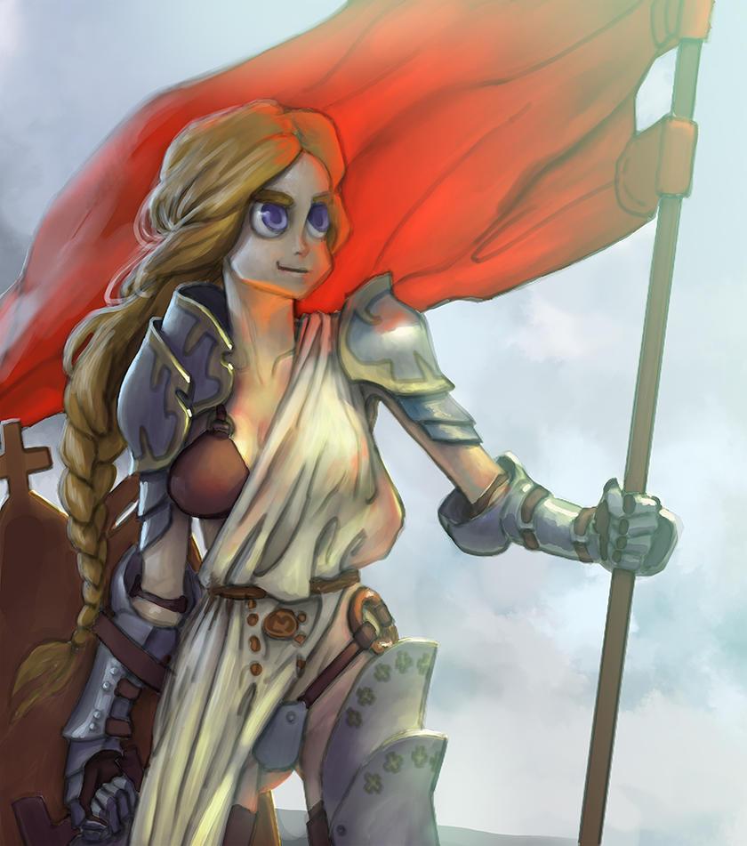 Warrior of Faith by Viking-Heart