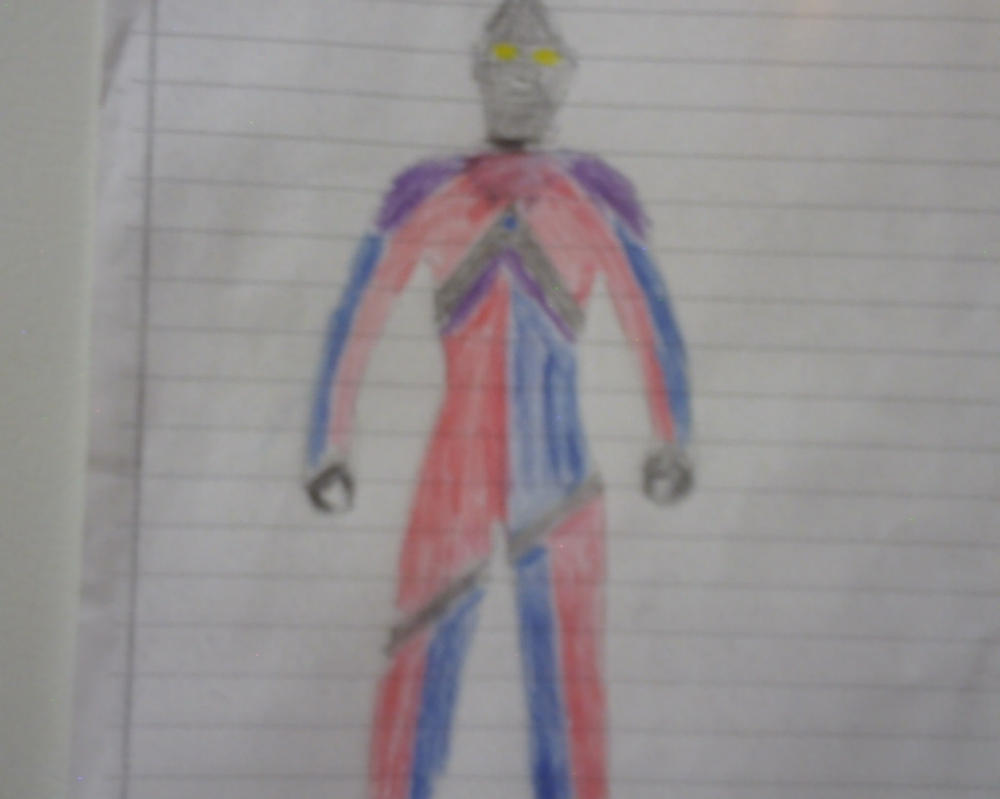 Ultraman Axel (Original form) by redgriffin22