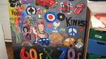 60's and 70's mural