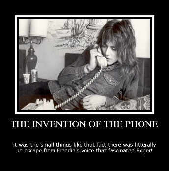 The Invention of the Phone and Roger Taylor by JohntheFishLovesCurt