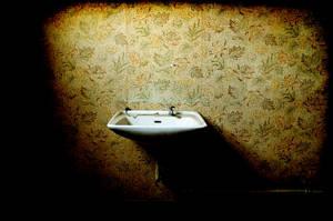 Washing in the darkness by ashleygino