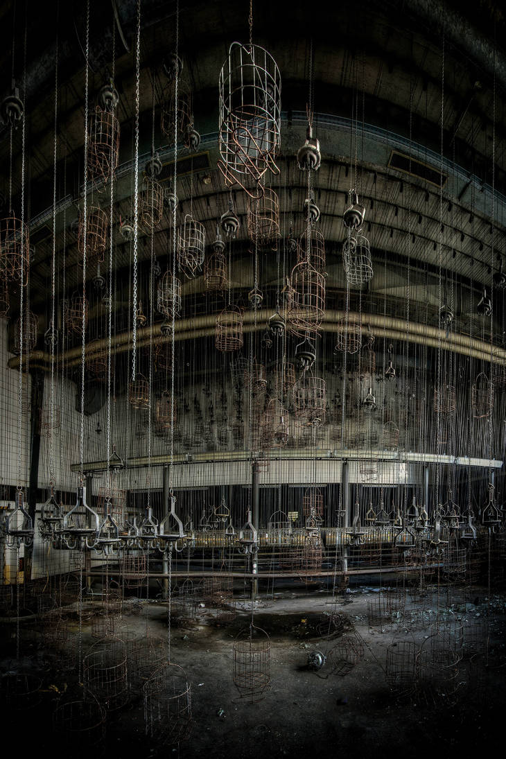 Urbex Hanging Out by ashleygino