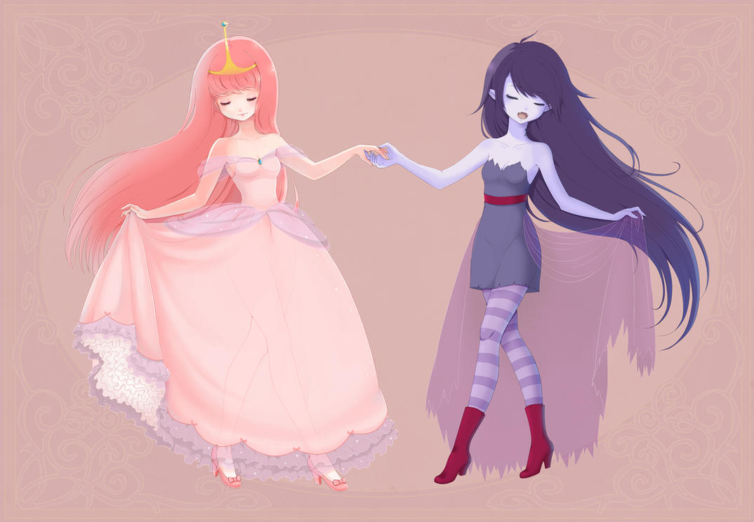 marceline and princess bubblegum past relationship