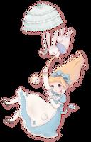 Alice Down the Rabbit Hole by bonxy