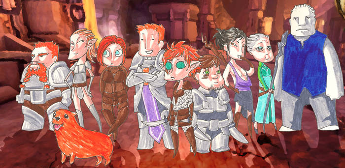 Dragon Age Origins Chibis