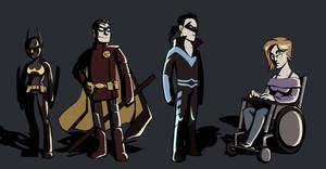 Batgirls and Robins