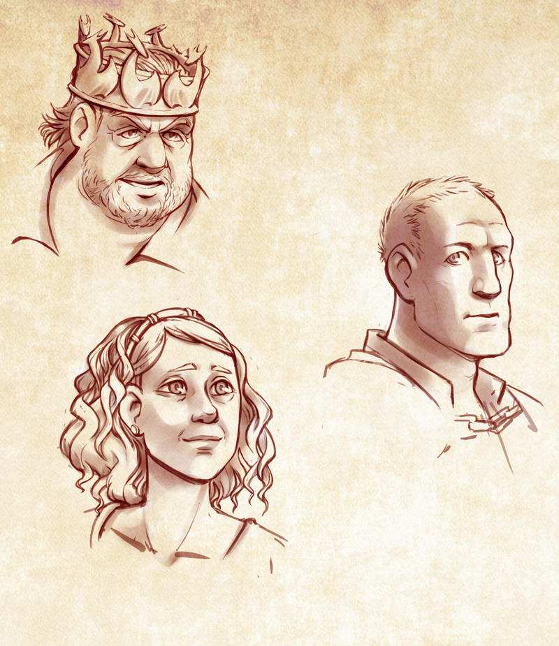 Targaryen Siblings by poly-m