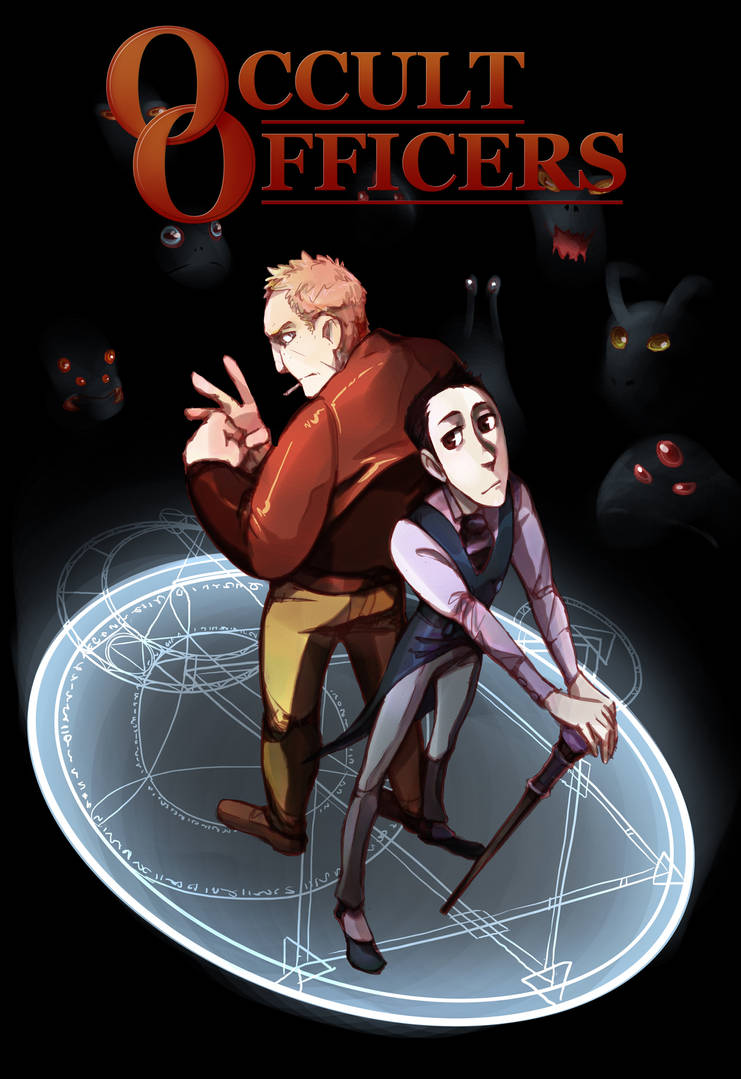 Occult Officers - Cover