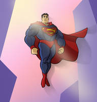 Superman by poly-m