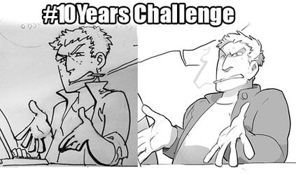 10YearsChallenge by poly-m