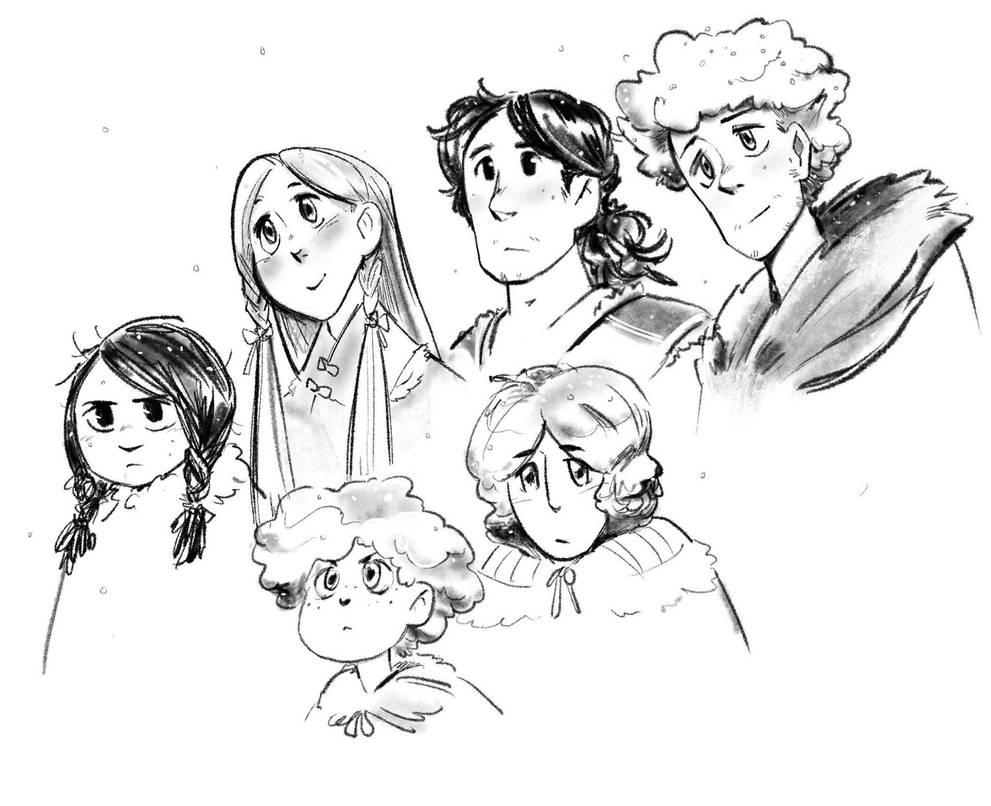 Stark kids by poly-m
