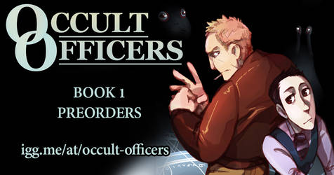 Occult Officers Book Preorders by poly-m
