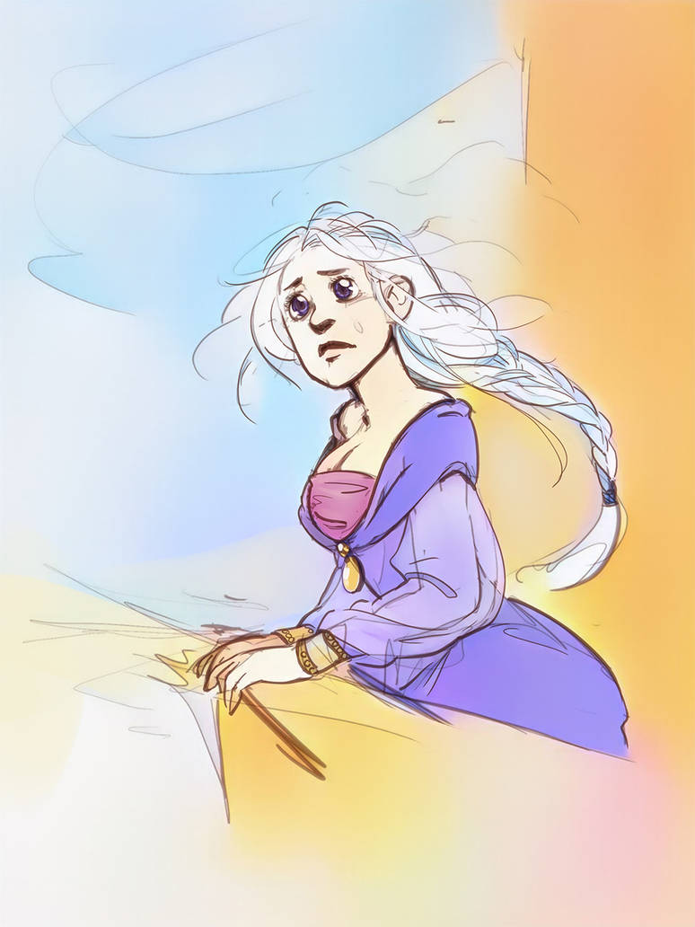 Sad Daenerys by poly-m