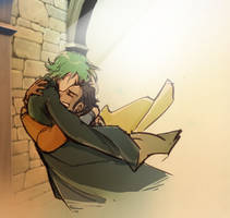Hug the boy