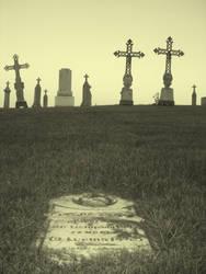 Fallen Grave by squirrelythis