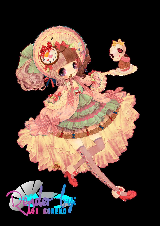 Kabasawa Kina -  Sweet Lolita [Render] by AoiKoneko04