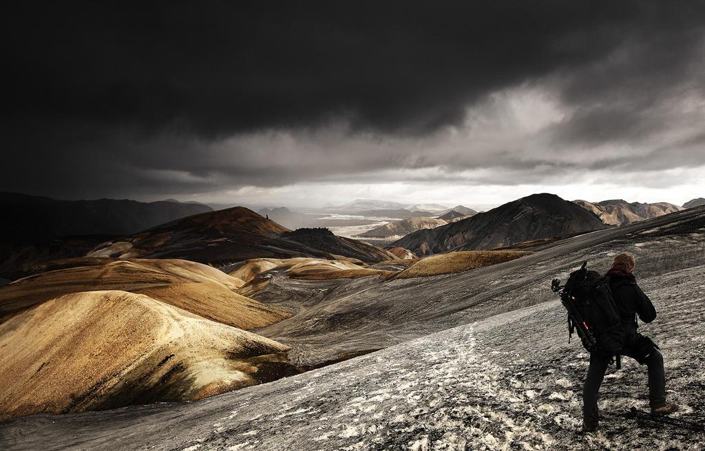 Ashes in Landmannalaugar by alexandre-deschaumes