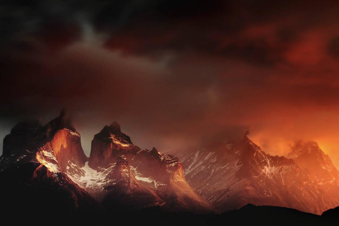 Les larmes ardentes d'un jour naissant .. by alexandre-deschaumes