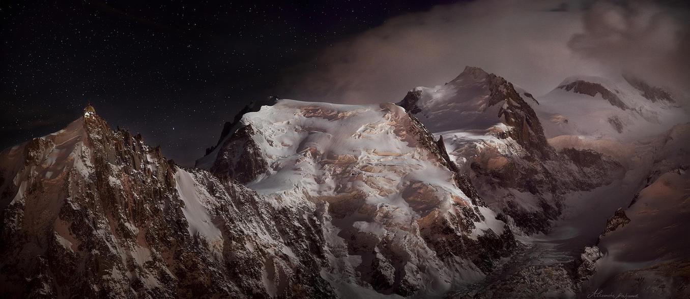 Cosmic Genesis by alexandre-deschaumes