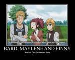 Bard Maylene and Finny