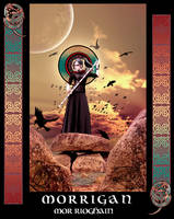 Morrigan - The War Goddess by vampbabe