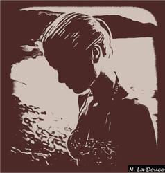 Silhouette of Grace Kelly