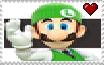 New Luigi Stamp by ColinZinhoChannel