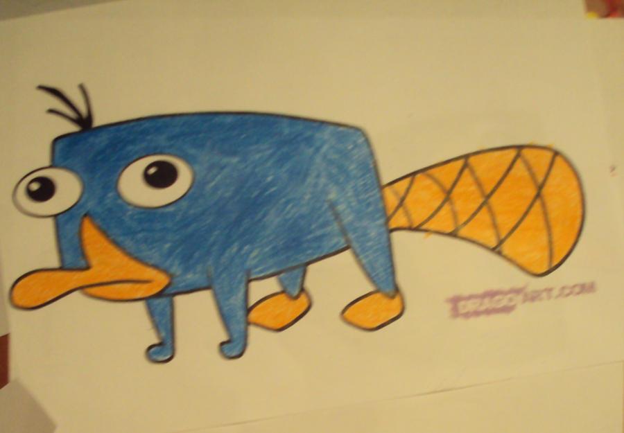 Perry mascota xDD by TJpintor