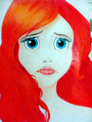 Ariel is sad by traumaditaa