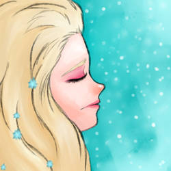 Elsa, trying to be free by traumaditaa