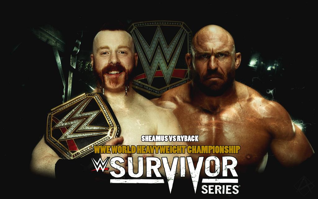 Sheamus VS Ryback Custom Match Card by Aaaalif on DeviantArt